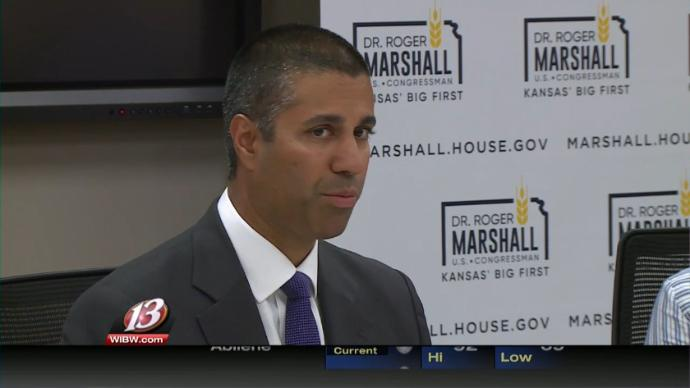 VIDEO: FCC chairman wants to bring high-speed internet to rural Kansas