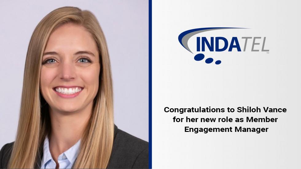 INDATEL Promotion: Shiloh Vance as Member Engagement Manager